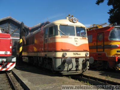 T 678.0, T678.0, T 679.0, T679.0, lokomotivní řada 775, lokomotivní řada 776, Pomeranč