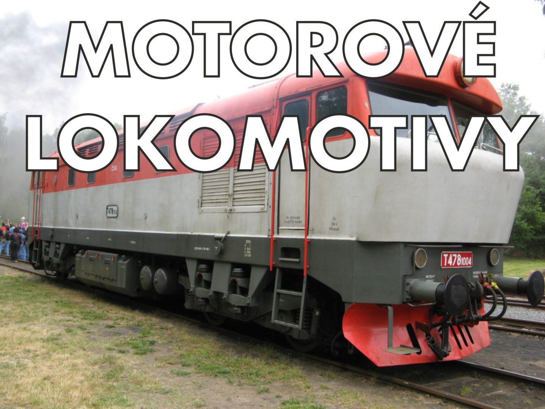 Motorové lokomotivy