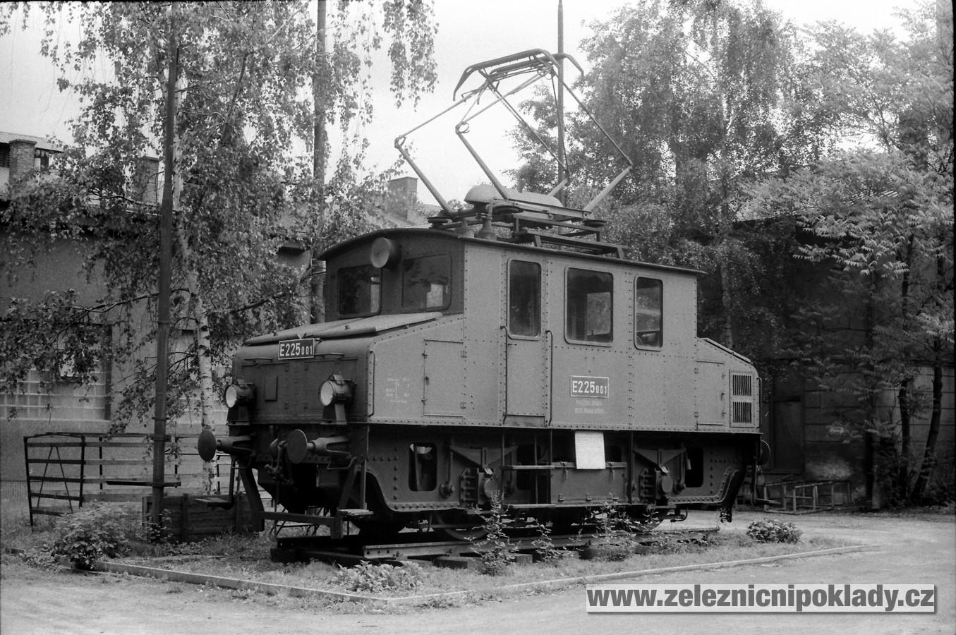 lokomotivní řada 101, E 225.0, WIEN No. 1