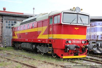 lokomotivní řada 750, reko T 478.3, Brejlovec, Okuliarnik