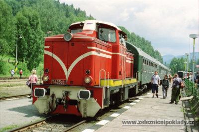 T 426.0, lokomotivní řada 715, Zubačka