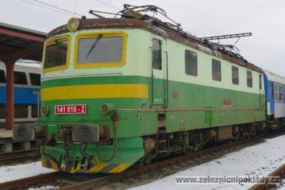 lokomotivní řada 141, E 499.1, Bobina jednička